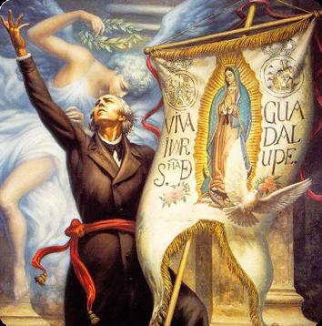 JESÚS HELGUERA-MEXICO (Lienzo Grito Dolores)