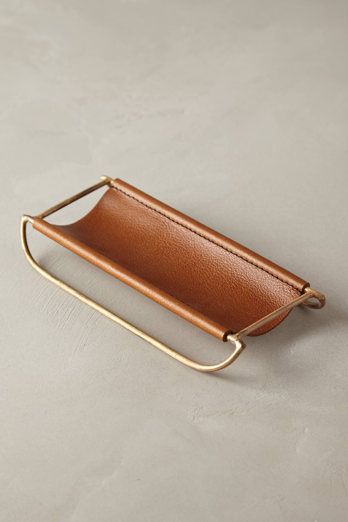 Leather desk accessories - Saddle Ring Desk Collection Leather Accessoriesdesk