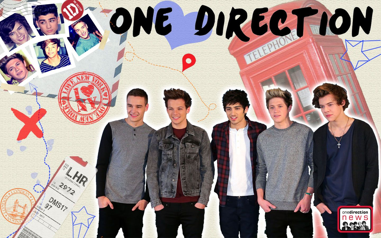One Direction Laptop Wallpaper 1440×900 Wallpaper One