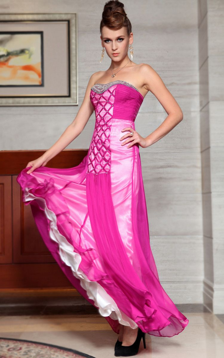 Cozyin Rose #Bandeau #evening #dress,♥! | Evening Dress | Pinterest