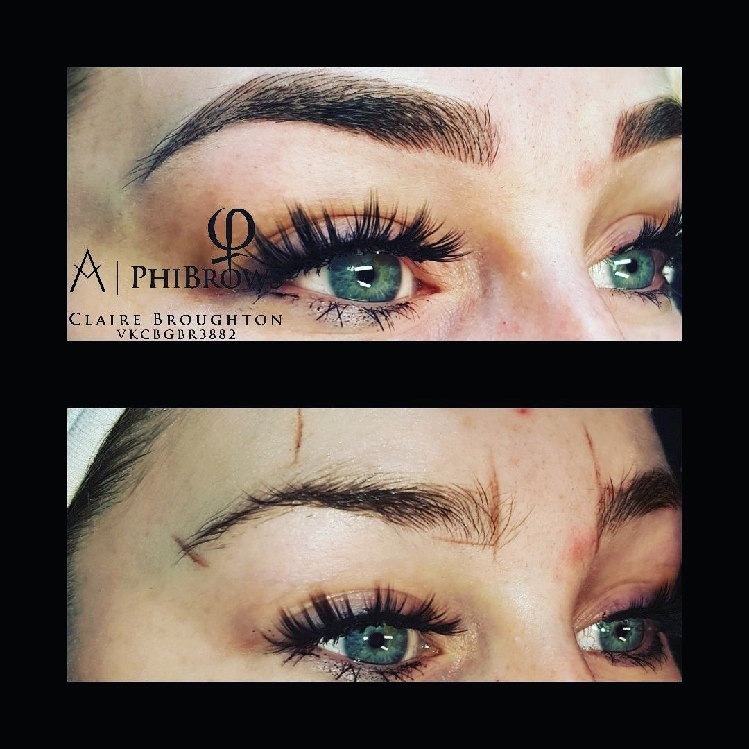 Phibrows Microblading Kustom Creations Tattoo Studio Manchester