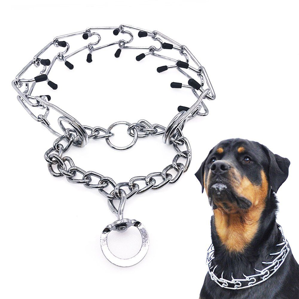 Mayerzon Dog Prong Collar Classic Stainless Steel Choke Pinch Dog