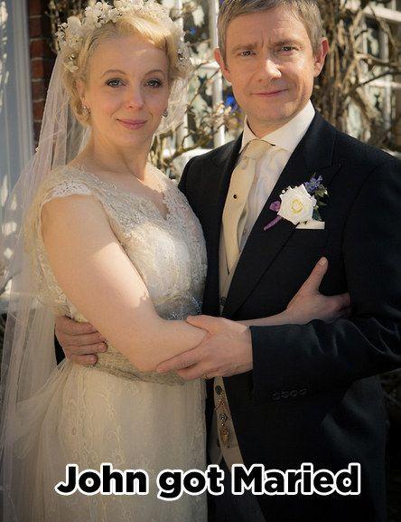 Amanda Abbington Sherlock Wedding How did John Watson ge...