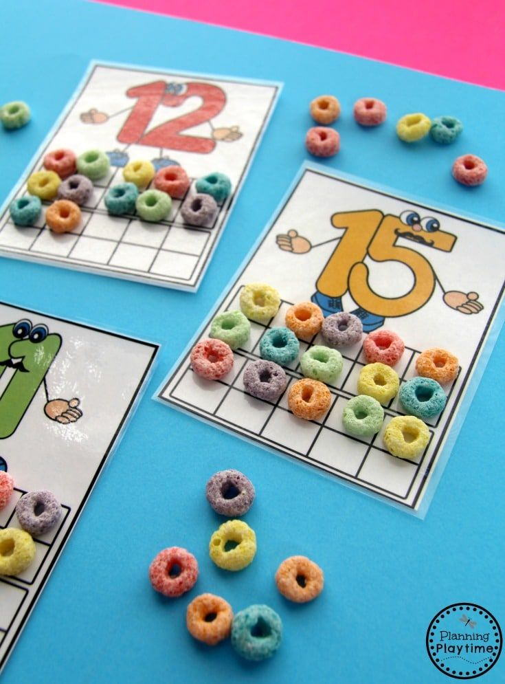 Numbers 11-20 Games | Counting activities, Kindergarten and Activities