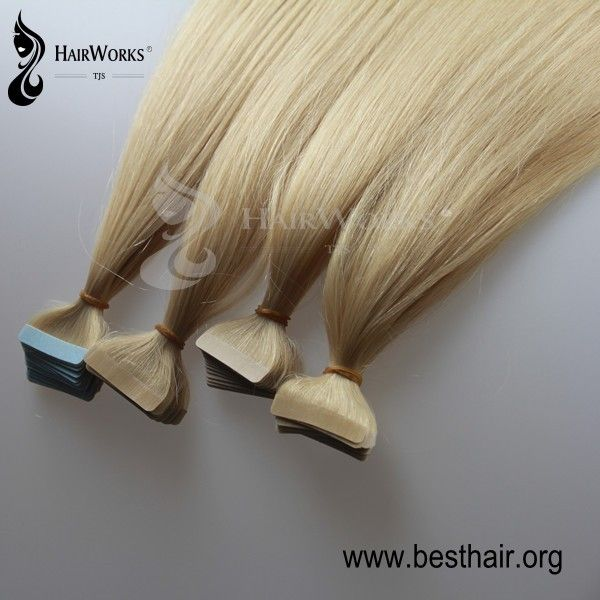 Tom Hairworks 22 Inch High Quality Tape In Hair Extensions Best