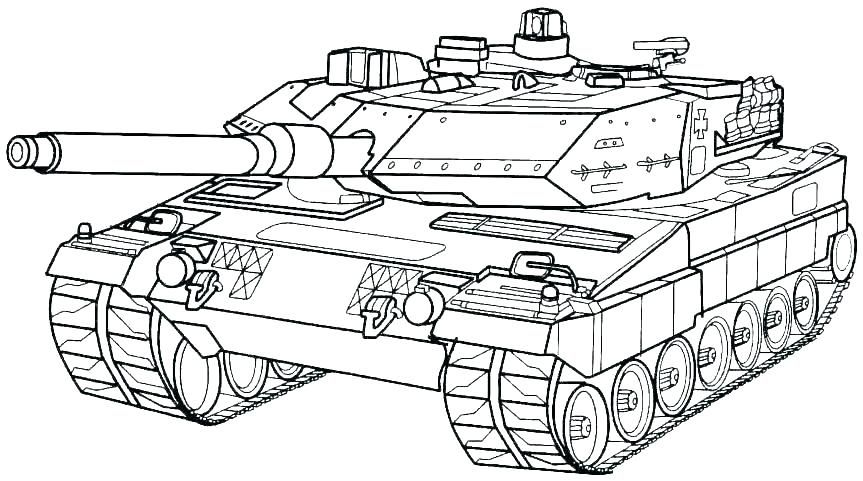 world war 2 Truck coloring pages