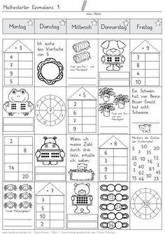 mathestarter-1x1-woche-1-und-2 - Zaubereinmaleins - DesignBlog ...