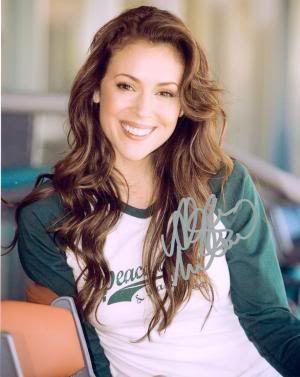 Alyssa Milano | Eye Candy | Alyssa milano, Hair styles, Hair