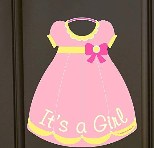 Amazon.com: Cute News It's Girl Door Hanger - Welcome Home ...