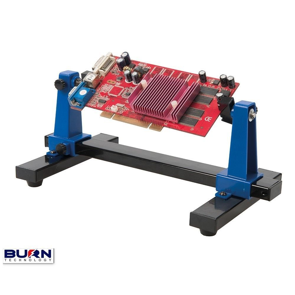 Pcb Holder Holds Circuit Board When Soldering 360 Adjustable Aid Details About Tool Fixtures Repair Kit For Jig