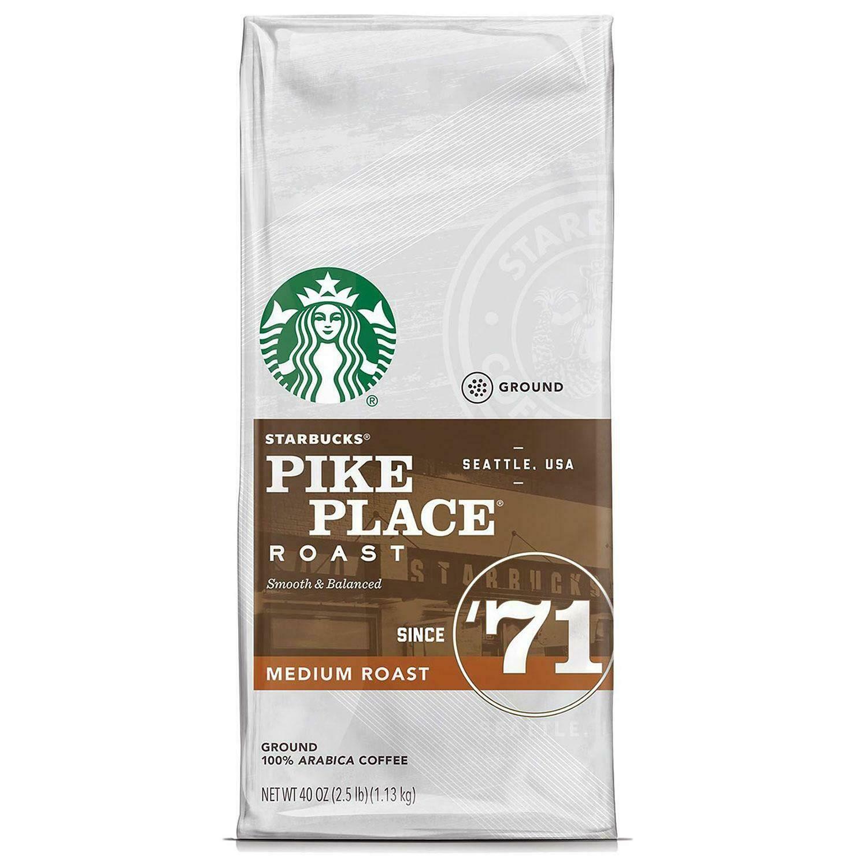 Details about Starbucks Pike Place Medium Roast Ground
