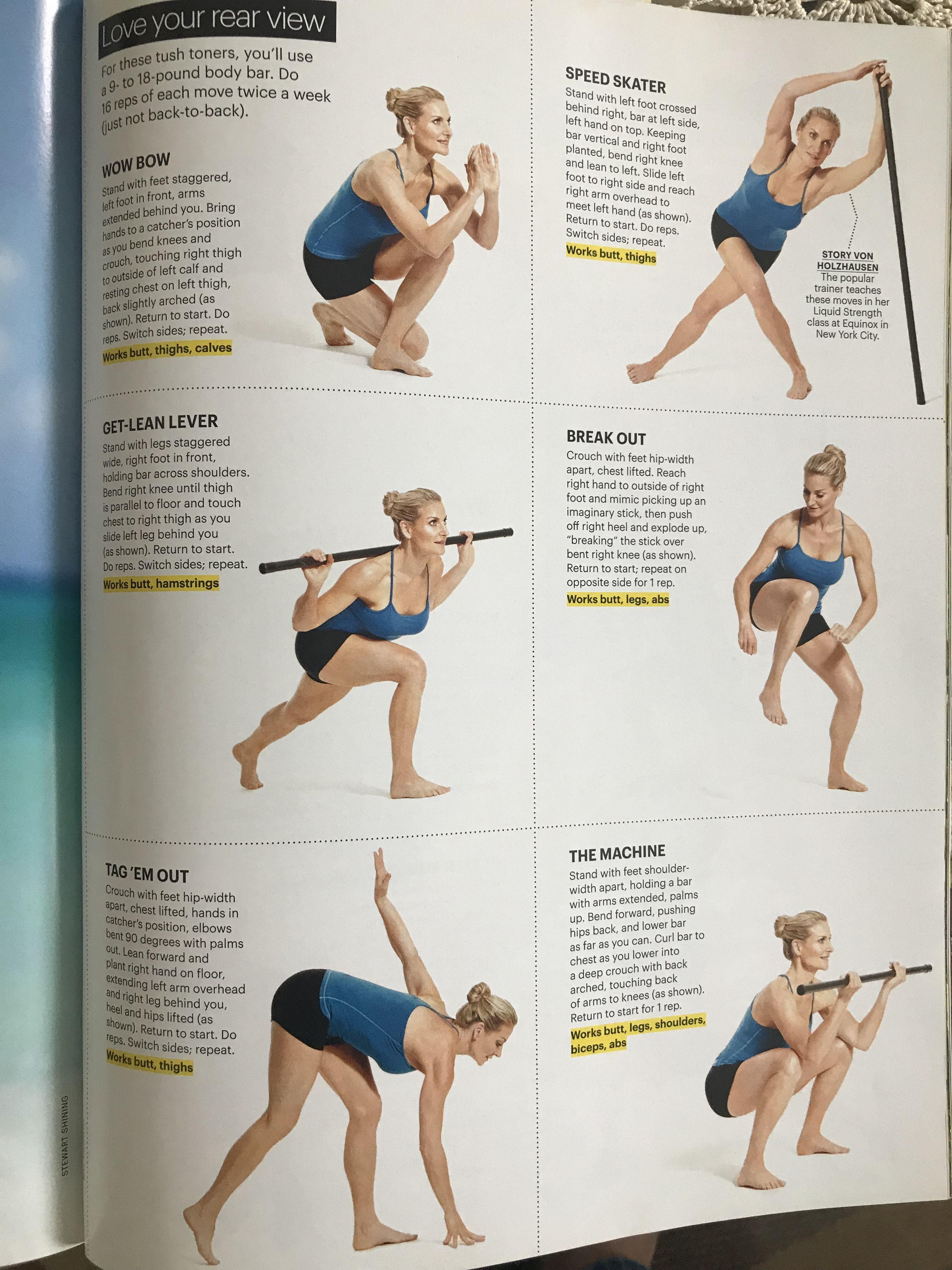 Pin By Kaska Kucharska On Make Fitness A Habit Thighs Touch Body Bars Body