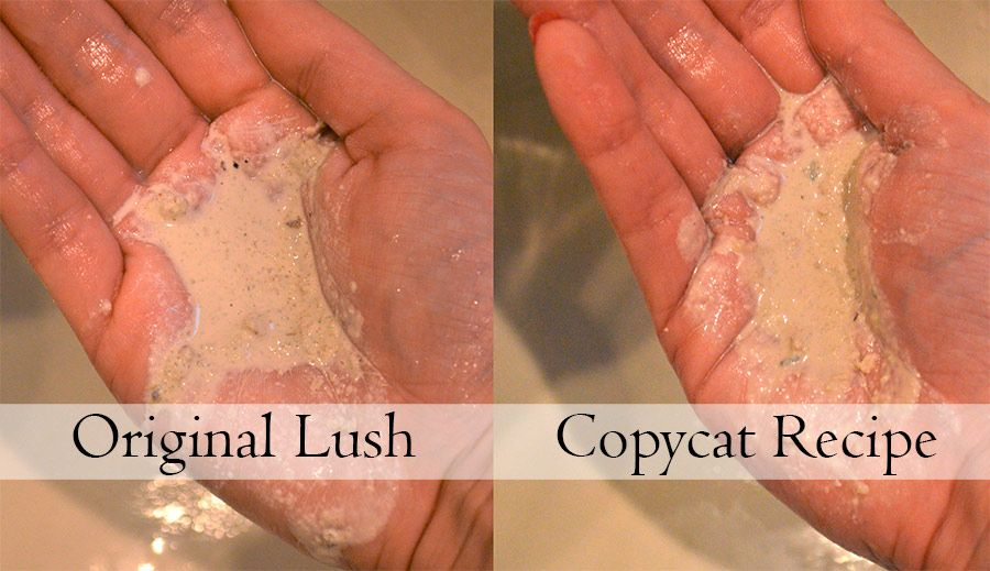 Copycat Lush Angels on Bare Skin cleanser