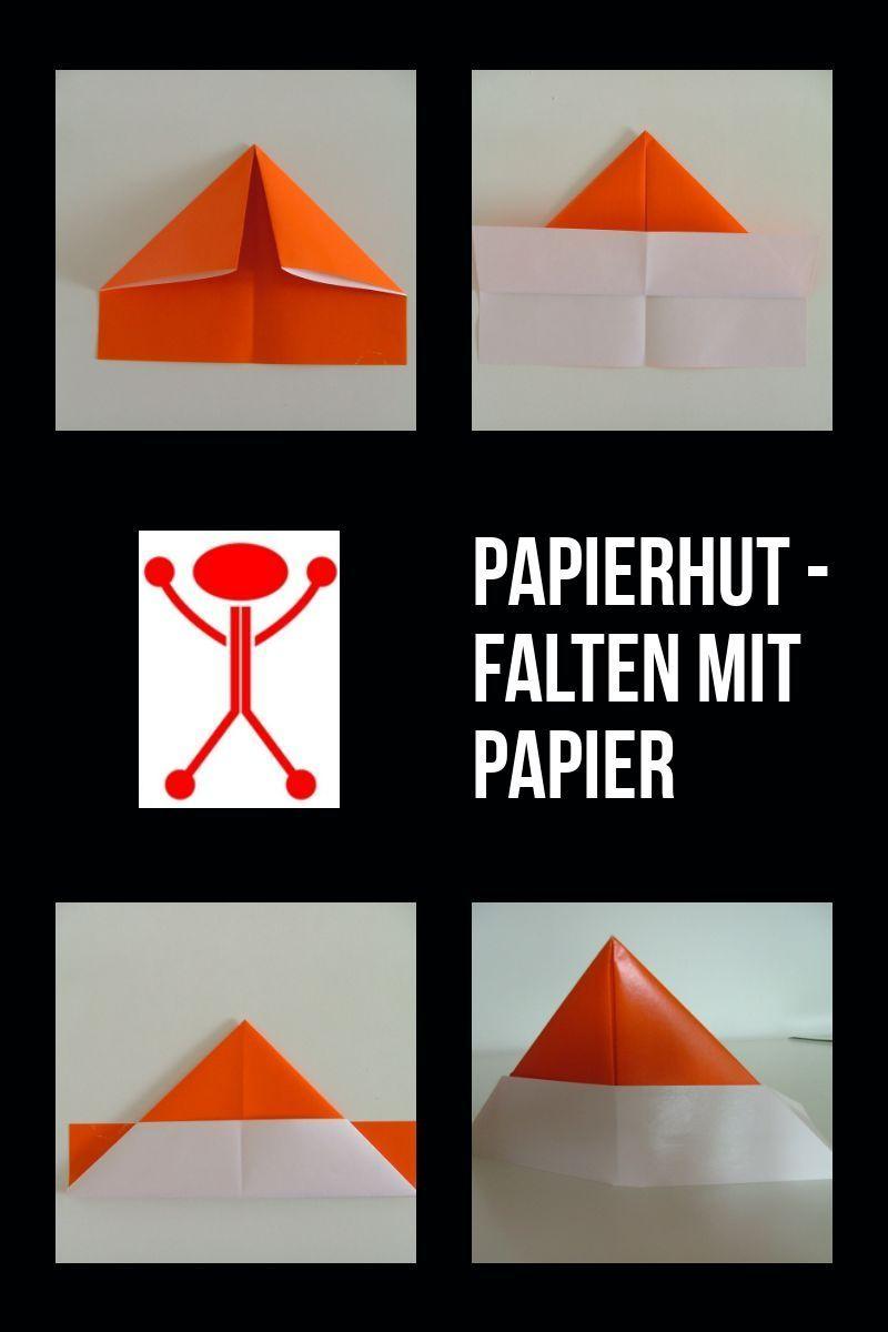 Sehr Papierhut Basteln Aus Papier | Meine Wunsch Rollen By Walter Hermann JJ35