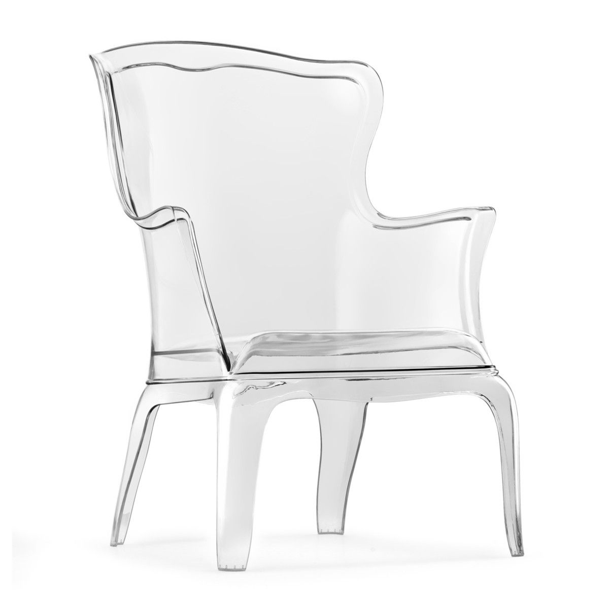 Pasha Armchair Clear My Favorite Color Yes Please I Ll Take 2 Contemporary Lounge Chair Furniture Modern Chairs