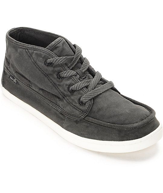 Zapatos negros casual Sanuk para hombre KbqAyf