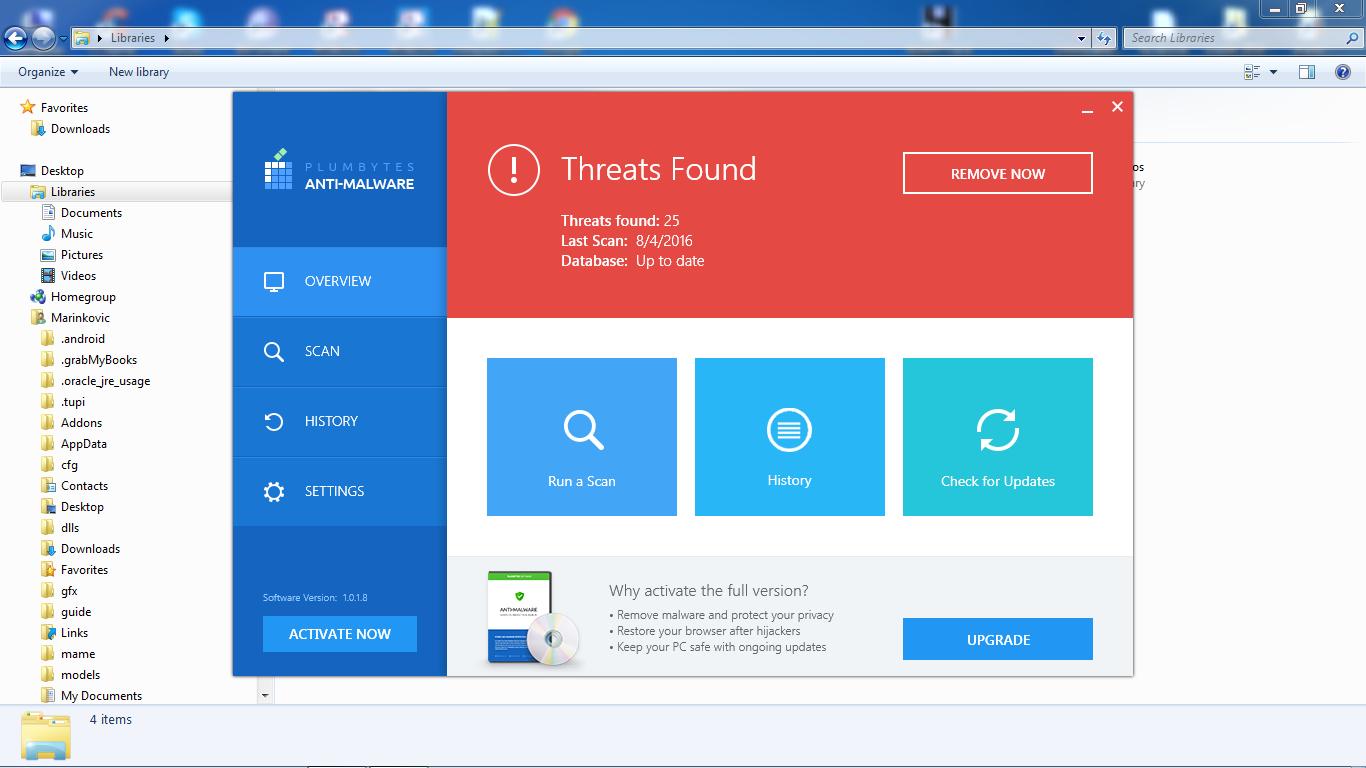Plumbytes Anti Malware 2016 License Key If Someone Needs A Free Lisensi Project Professional Original Registration