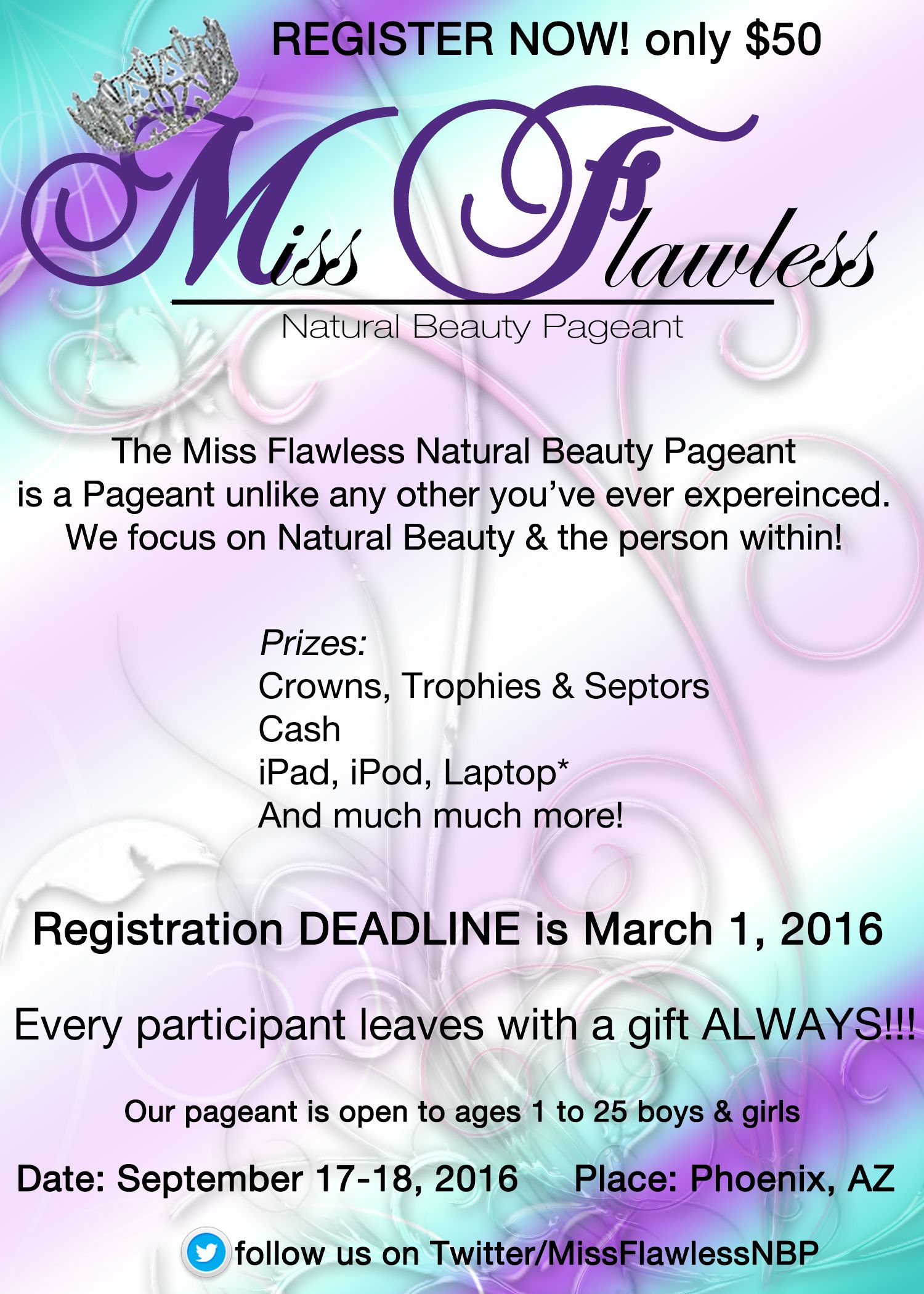 pageant flyer beauty pageant natural beauty nature design pageants off grid