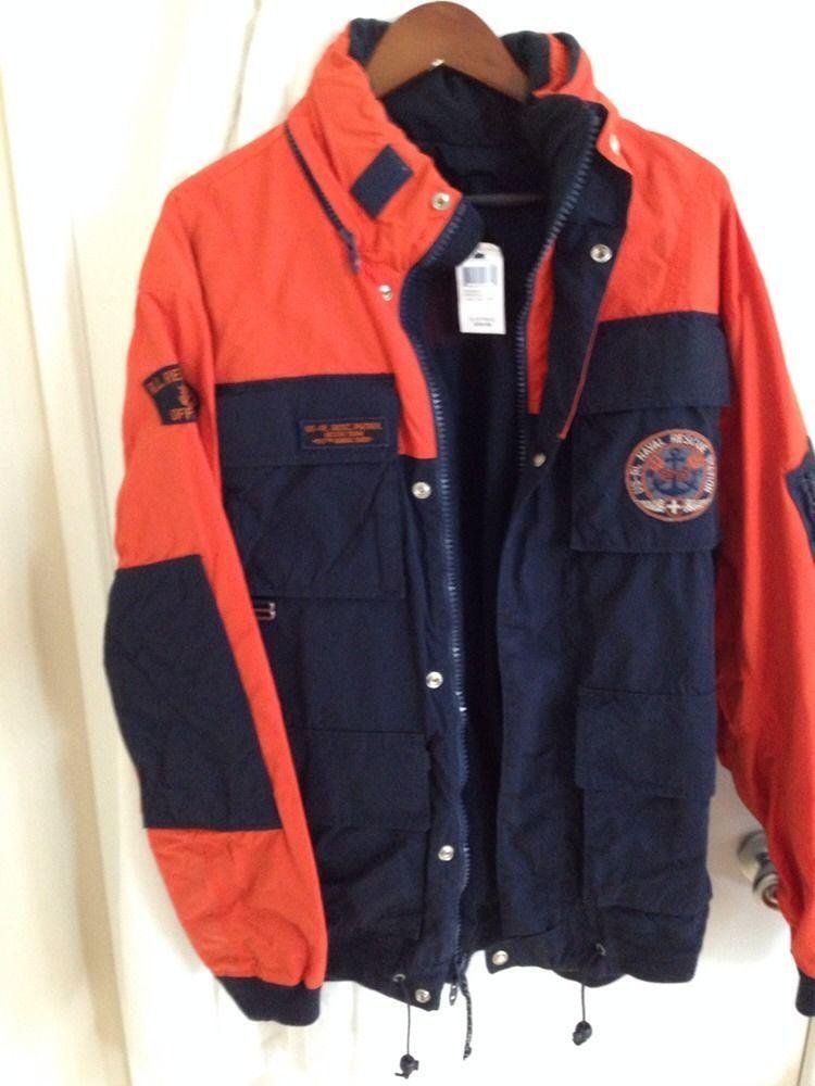 U Guardian Patrol New ~ Polo Jacket Ralph Lauren sCoastal Rare VpGqMLUSz