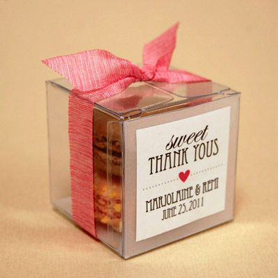 Cute Idea For Wedding Favors