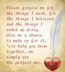 I forgive you letter to boyfriend