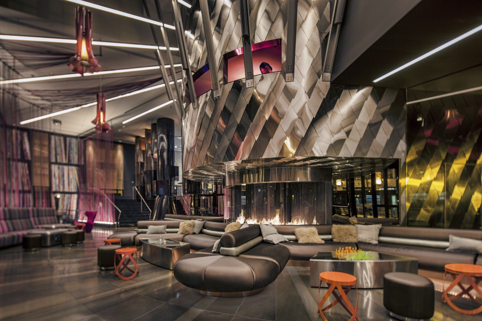 2013 Restaurant Bar Design Award WinnersAmericas The Living Room United States Skylab Architecture