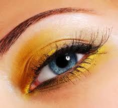 Resultado de imagen de makeup yellow