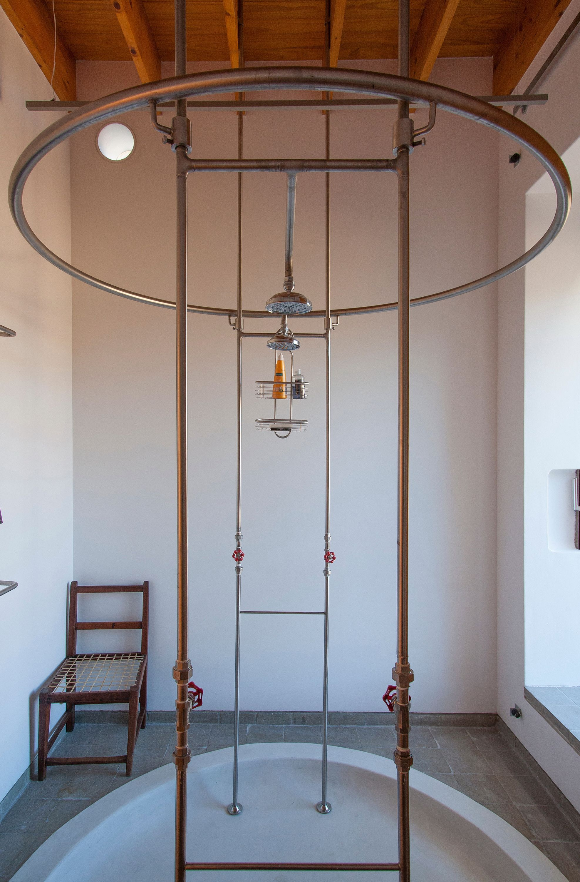 Industrial Outdoor Shower Gallery Of House In The Mountains Wolff Architects 10