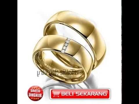 Youtube Harga Perhiasan Cincin Custom Nikah Murah Tanpa Ongkir Kawin Emas 24