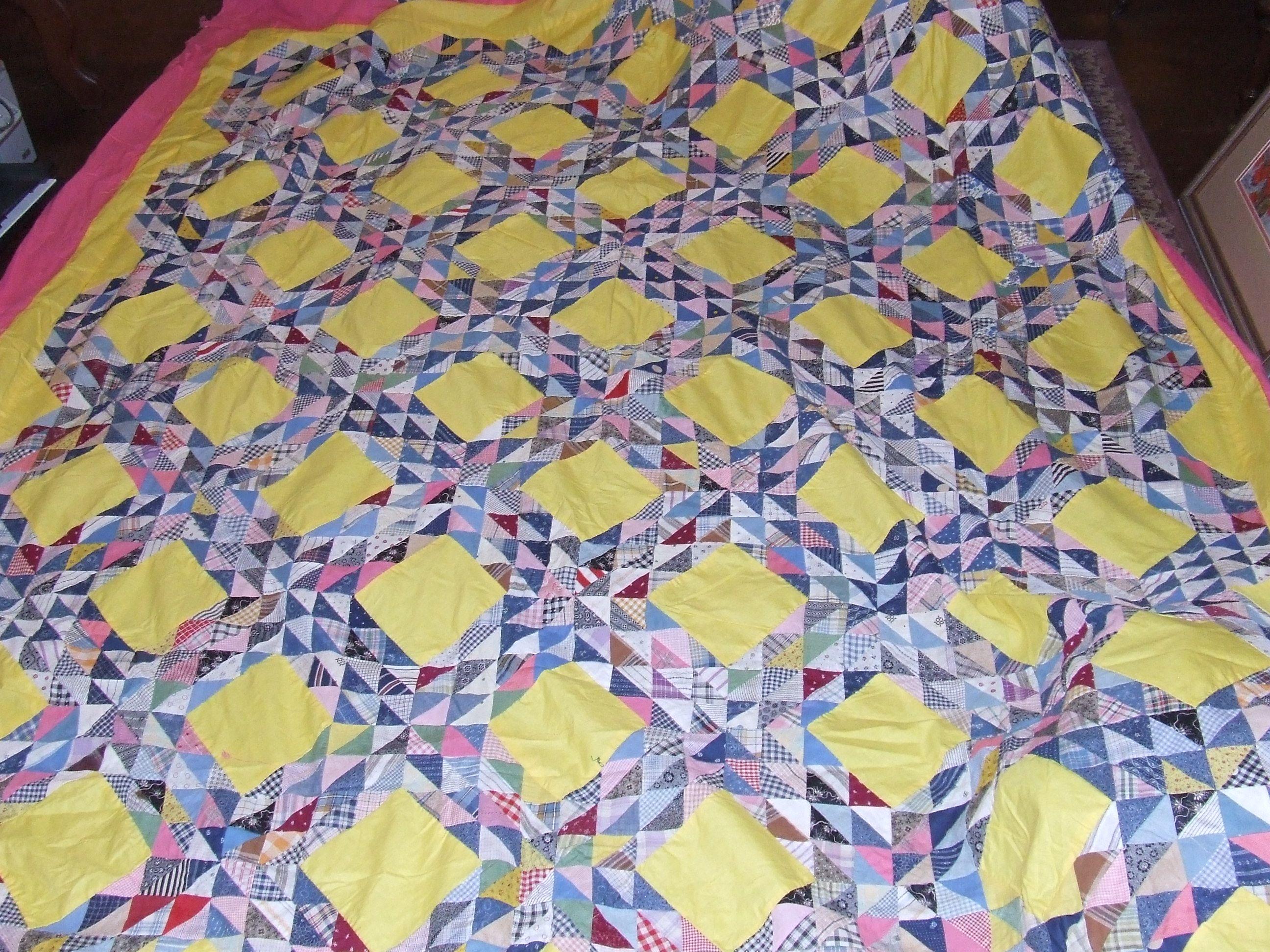 Ocean Waves Quilt Vintage Quilt Tim Latimer Quilts Etc