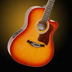 HelloMusic: Crestwood Guitar 2017EQ Thin Body Acoustic-Electric http://www.hellomusic.com/items/2017eq-thin-body-acoustic-electric