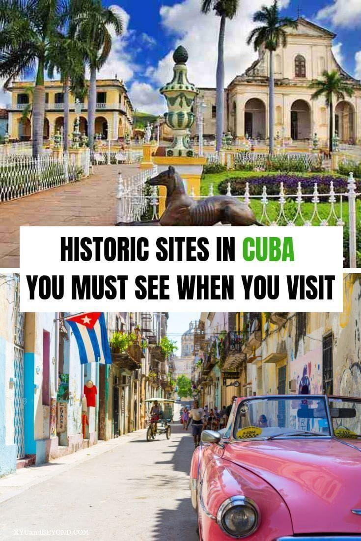 Outstanding Historical places to visit in Cuba #historyofcuba Love history then you need to visit Cuba, Historical sites in Cuba to see when you visit | Cuba for History Buffs #Cuba #history #Caribbean #Cubanhistory #placestoseeinCuba #visitCuba #travelCuba #revolutionCuba #historyofCuba #architectureCuba #visitcuba Outstanding Historical places to visit in Cuba #historyofcuba Love history then you need to visit Cuba, Historical sites in Cuba to see when you visit | Cuba for History Buffs #Cuba #visitcuba