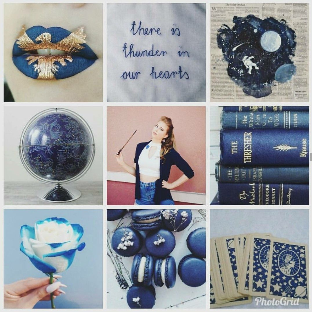 Christine & the Ravenclaw aesthetic