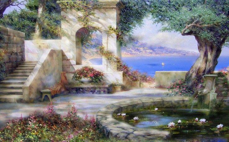 Mystic Heaven Garden Wallpapers Hd Desktop Wallpaper Hd Wallpaper Wallpaper Wallpaper images wallpaper garden photos
