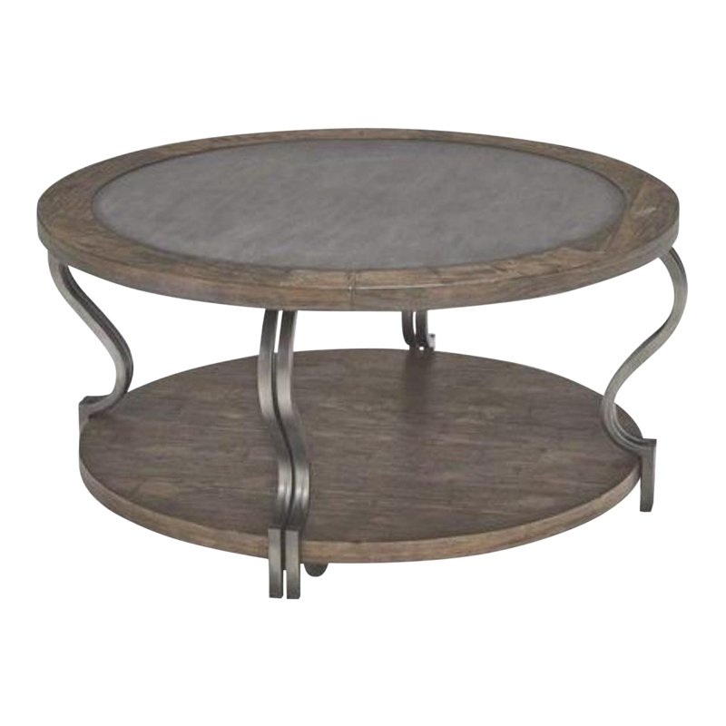 Ashley Furniture Coffee Cocktail Table Round Coffee Table Black