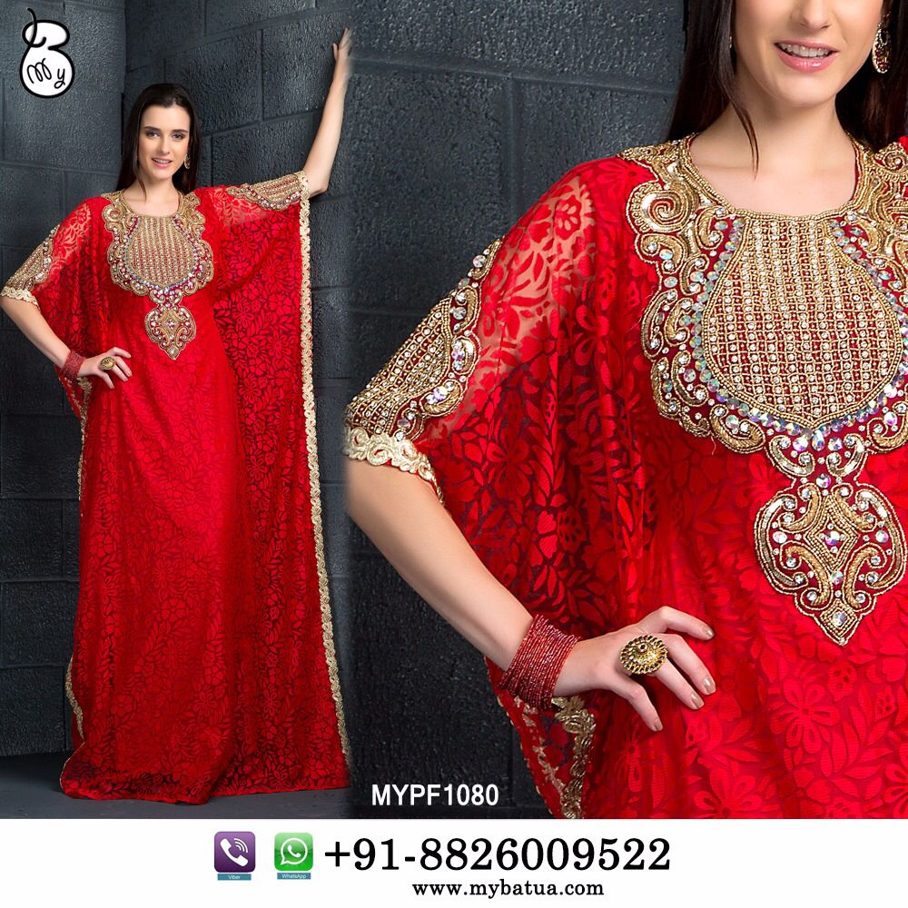 For kaftan lovers here it comes muskan kaftan with enticing