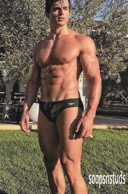 hunk Gay hairy chest