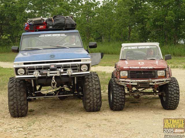 Ford Bronco Vs Suzuki Samurai Suzuki Samurai Offroad Trucks Offroad Jeep