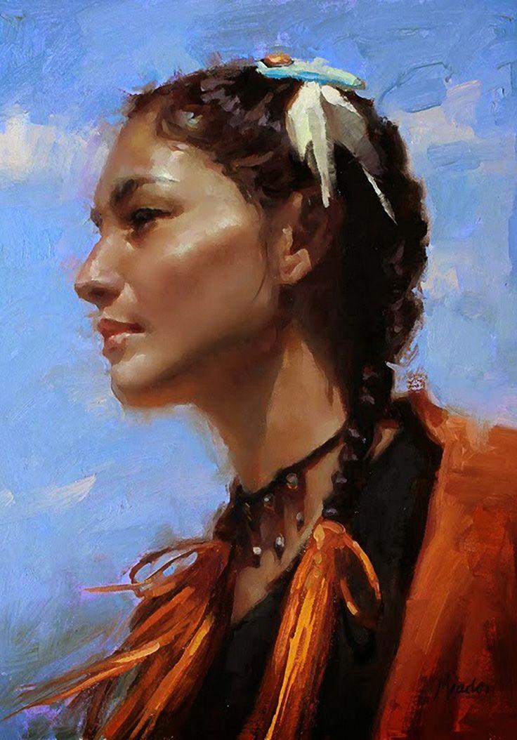 contemporary female native american artists