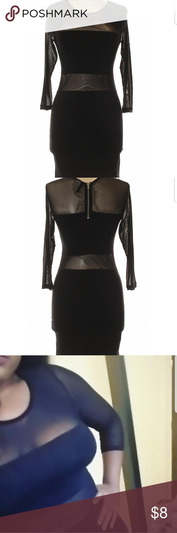 Black mesh dress my posh picks pinterest dresses fashion