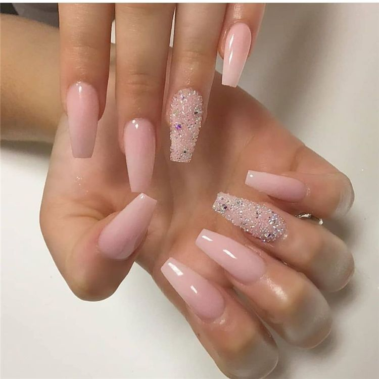 50 Stunning And Gorgeous Summer Coffin Acrylic Nail Designs For Your Inspiration Page 44 Of 50 Swag Nails Acrylic Nail Designs Sunflower Nails