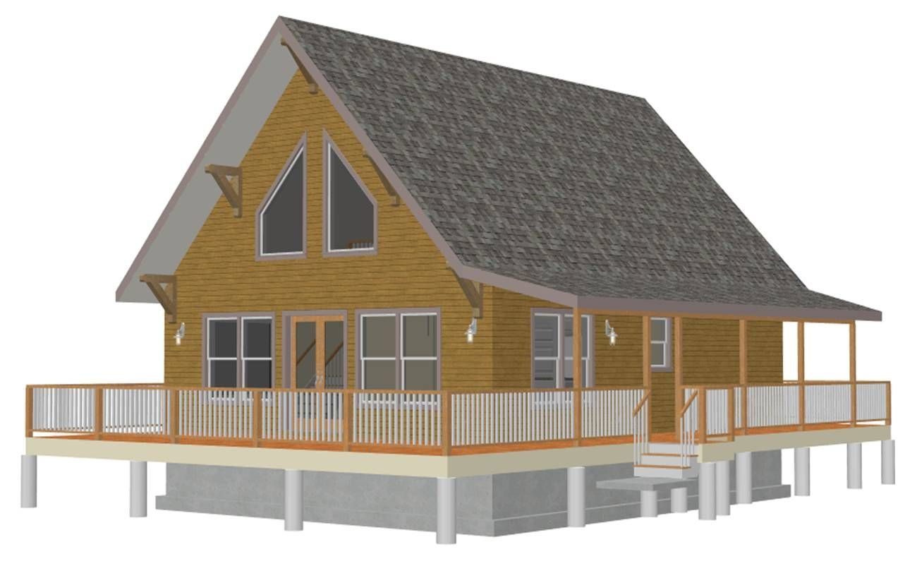 House · Bunkhouse Plans Blog, Small ...