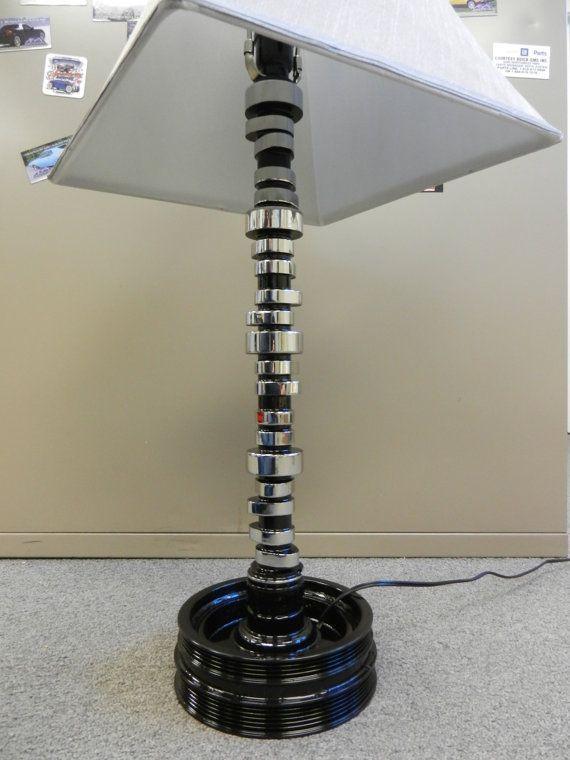 POLISHED Corvette Camshaft Lamp Table/desk Car