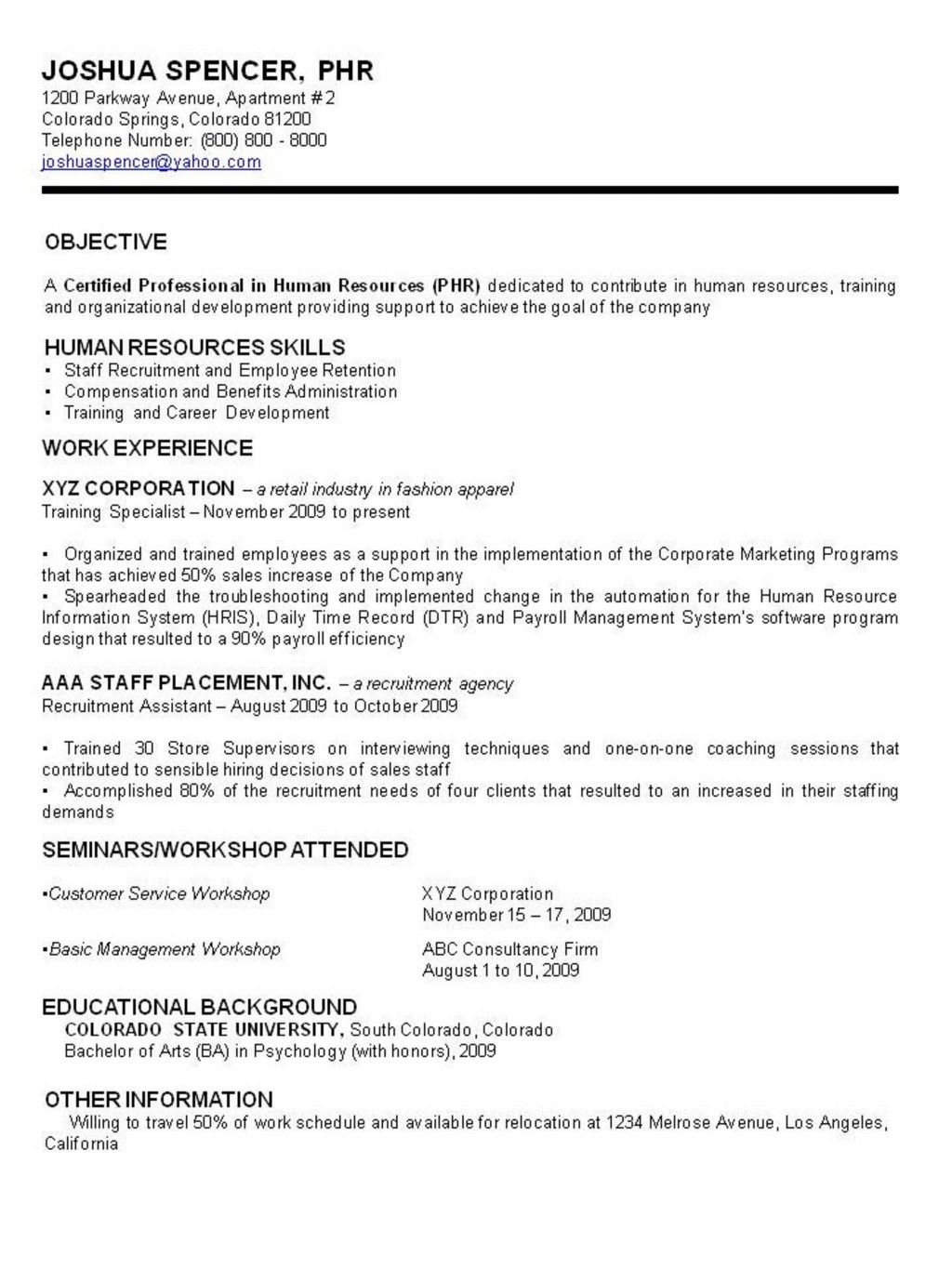 TYPES OF RESUME APPLICATION Resume examples, Sample