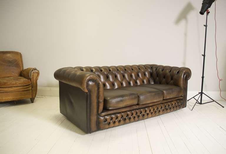 Fantastic Vintage Chesterfield Sofa In, Flash Furniture Dealers