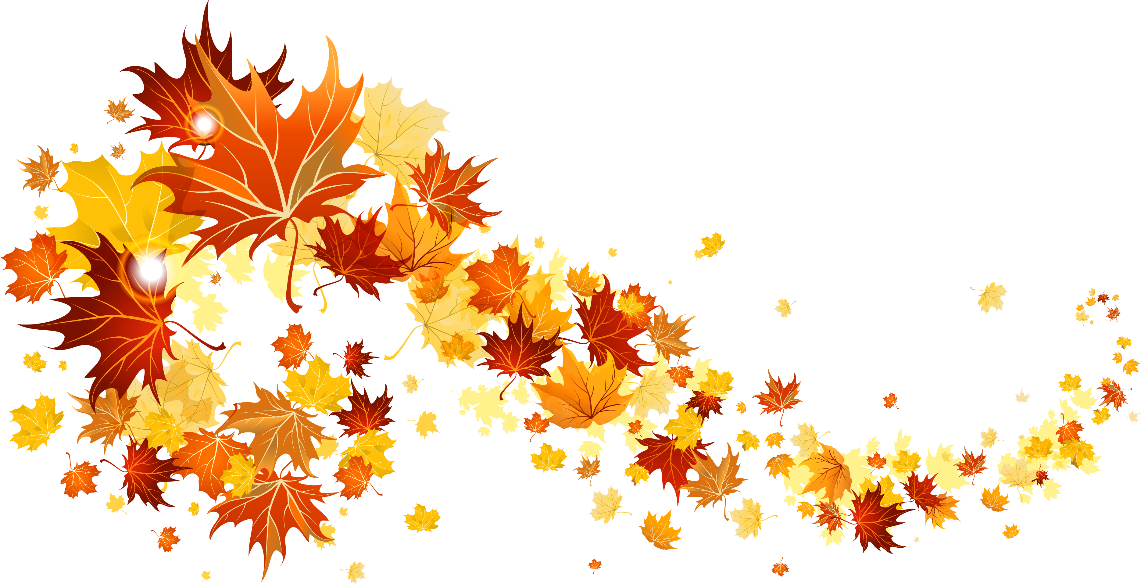 Fall Leaves Transparent Picture Png 3742 1915 Fall Clip Art Autumn Leaves Fall Leaves Tattoo