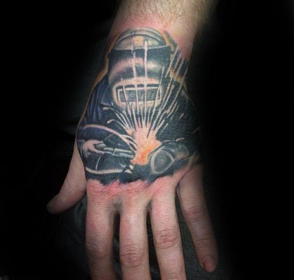 80 Soldadura Tatuajes Para Los Hombres Industriales De Tinta Ideas