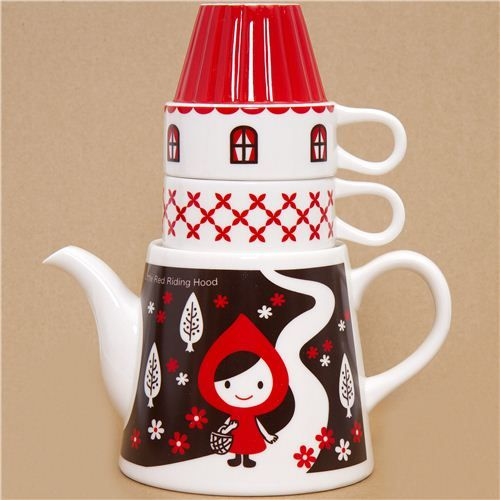 Little Red Riding Hood tea set #tea