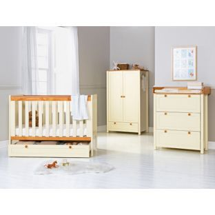 Clic Two Tone 5 Piece Nursery Furniture Set At Argos Co Uk Visit