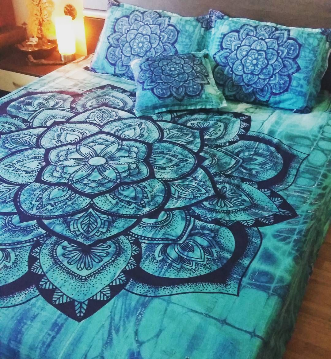 Best Bohemian Bedding Mandala Duvet Cover Set Bohochic 400 x 300